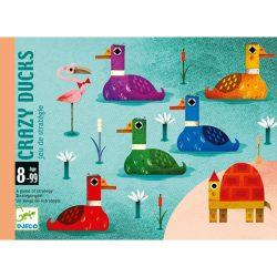 Djeco Kártyajáték - Logi-kacsa-láb - Crazy Ducks