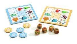 Djeco Társasjáték klasszikus - Junior kockapóker - Yams