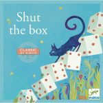 Djeco Társasjáték klasszikus - Nyitni kék - Shut the box