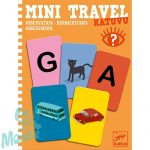 Djeco Mini utazó játékok - Betű-kép - Katuvu