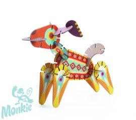 Djeco Építőjáték - Volubo állatok - Animals