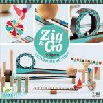 Djeco Zig & Go - Golyós pálya építő - Görgők