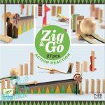 Djeco Építőjáték - Sokasodó 27 db - Zig & Go