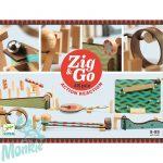 Djeco Zig & Go - Golyós pálya építő - Fal kaland
