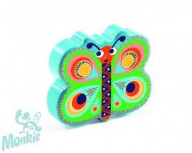 Djeco Játékhangszer - Pillangó marakas - Butterfly maracas
