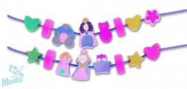 Djeco Fűzős játék - Hercegnős fűzőcske - Filaprincess