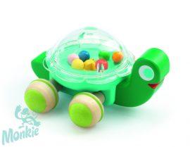 Djeco Lola -Tologatható játék - Lola a teknős - 0-3 éves korig