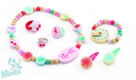 Djeco Ékszerkészlet - Nyári kert - Summer garden jewellery