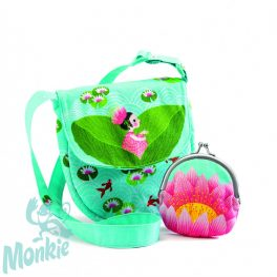 Djeco Kistáska pénztárcával - Vízi Lily - Miss waterlily bag and purse