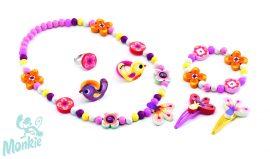 Djeco Ékszerkészlet - Erdei virágok - Wood flower jewellery