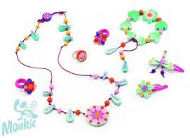 Djeco Ékszerkészlet - Csodálatos virágok - Flower paradise jewels