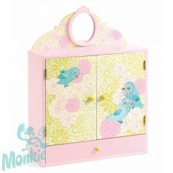Djeco Kisszekrény - Romantikus madarak - Romantic birds wardrobe