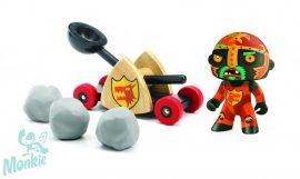 Djeco Arty Toys Knights - Kőhajító lovag figura,6731