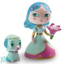 Djeco Arty Toys Princesses - Luna & Blue,Hercegnő, 6765