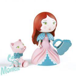Djeco Arty Toys Princesses - Rosa & Cat *, Hercegnő 6777
