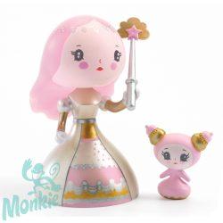 Djeco ARTY TOYS Princesses - Candy & lovely hercegnő figura 6781