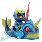 Djeco Arty Toys Szörnyhajós kalóz