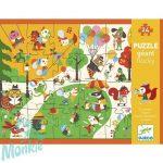 Djeco Óriás puzzle - Játszótér - Flocky puzzle - Square