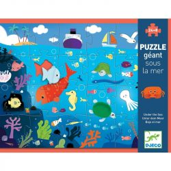 Djeco Óriás puzzle - A tenger alatt - Under the sea