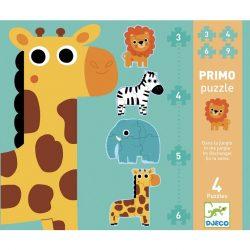 Djeco Óriás puzzle - A szavannán - In the jungle