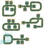 Djeco Roads - Játszószőnyeg puzzle utak kisautóknak