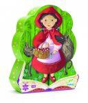 Djeco Formadobozos puzzle - Piroska és a farkas - Little Red Riding Hood