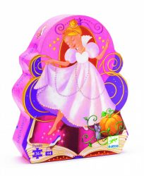 Djeco Formadobozos puzzle - Hamupipőke - Cinderella