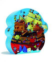 Djeco Formadobozos puzzle - Barbarossa hajója - Barbarossa's Boat