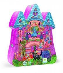 Djeco Formadobozos puzzle - Tündérek kastélya - The fairy castle