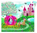 Djeco Formadobozos puzzle - Elise hintója - Elise Carriage