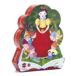 Djeco Formadobozos puzzle - Hófehérke - Snow White
