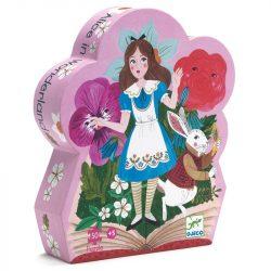 Djeco Formadobozos puzzle - Alice csodaországban - Alice in wonderland