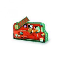 Djeco Mini puzzle - A tűzoltóautó - The fire truck