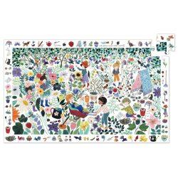 Djeco Megfigyeltető puzzle - 1000 virág, 100 db-os -1000 flowers