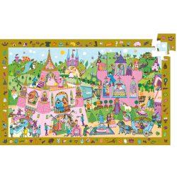 Djeco Megfigyeltető puzzle - Hercegnő, 54 db-os - Princess