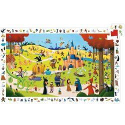 Djeco Megfigyeltető puzzle - Mesék, 54 db-os - Tales