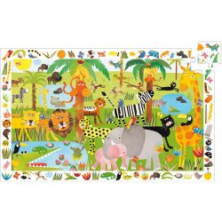 Djeco Megfigyeltető puzzle - Dzsungel, 35 db-os - Jungle