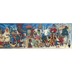 Djeco Művész puzzle - Fantasztikus zenekar, 500 db-os - Fantasy Orchestra