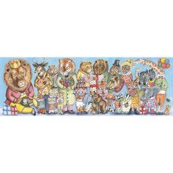 Djeco Művész puzzle - Királyi szülinap, 100 db-os - King party