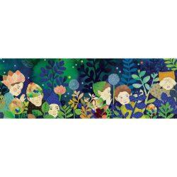 Djeco Művész puzzle - Szivárványos tigrisek, 1000 db-os - Rainbow Tigers