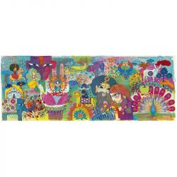 Djeco Művész puzzle - Varázslatos India, 1000 db-os - Magic India