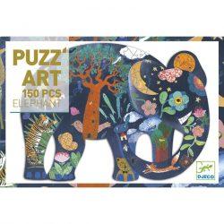 Djeco Művész puzzle - Elefánt, 150 db-os