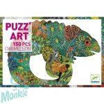 Djeco Chameleon - Művészi puzzle Kaméleon