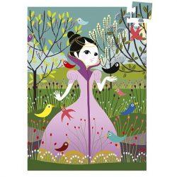 Djeco Mini puzzle - Elvira, 60 db-os