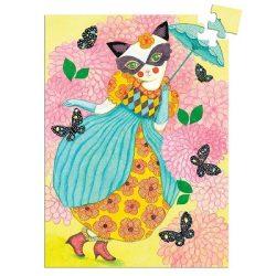 Djeco Mini puzzle - Miss tigri, 60 db-os