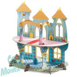 Djeco Építőjáték - Csodálatos kastély 3D - Castle of wonders 3D