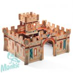 Djeco Medieval castle - Középkori vár- Építőjáték