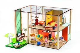 Djeco Kocka babaház - Cubic house, 7801, berendezés nélkü