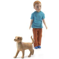 Djeco Babaház A nagyfiú - Xavier és kutyája
