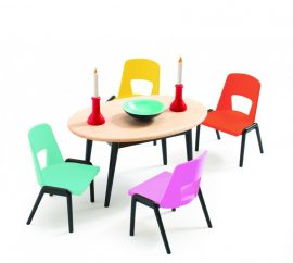 Djeco - Az ebédlő - The dinning room